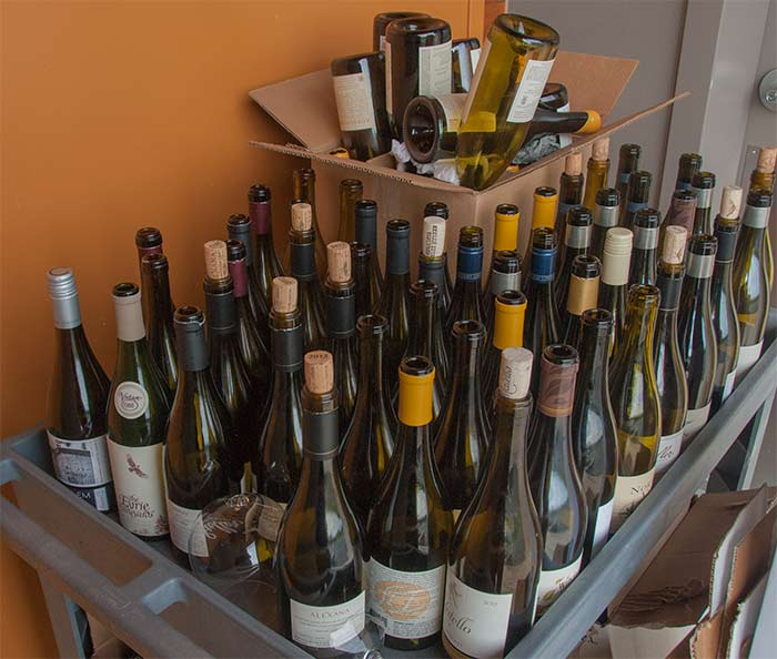 Oregon Chardonnay Symposium bottles